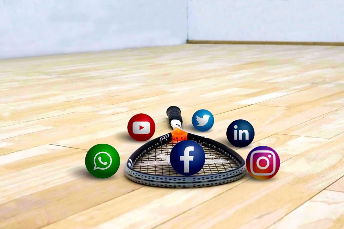 Squash clubs and social media