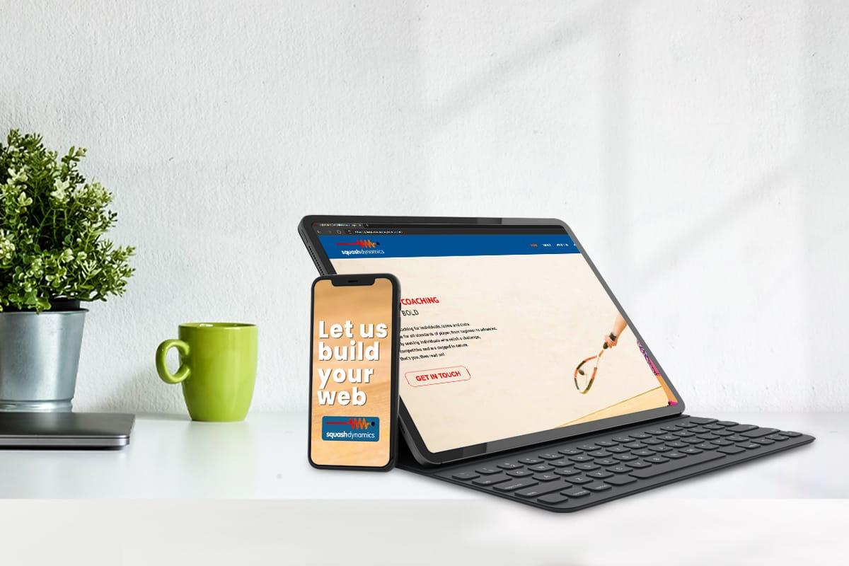 Squash clubs and website design